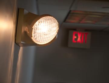 Эвакуационное и аварийное освещение graphic