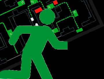 План действия при пожаре graphic